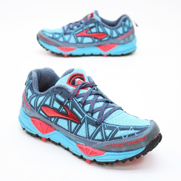 Brooks Shoes - Brooks Ladies 6 Cascadia 8  Trail Running Sneakers